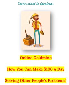 Online Goldmine